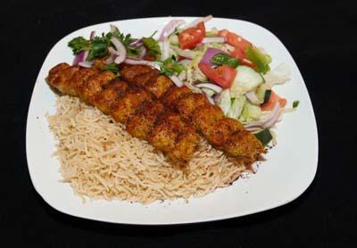 A10 - Chicken Seikh Kabob