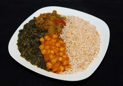 V.2 - Veggie Rice Combo
