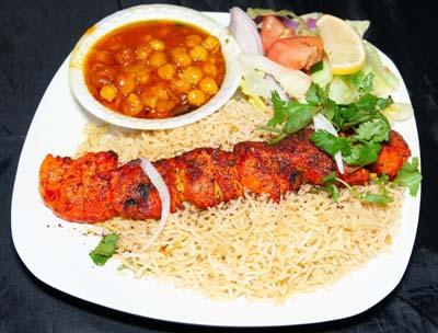 Lunch Special - 1 Skewer Chicken